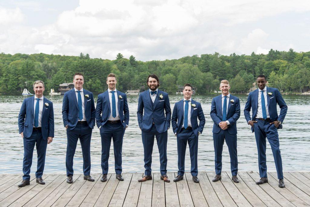 drew doughty wedding groomsmen