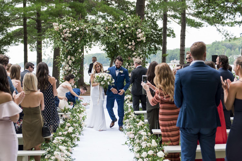 drew nicole doughty muskoka wedding