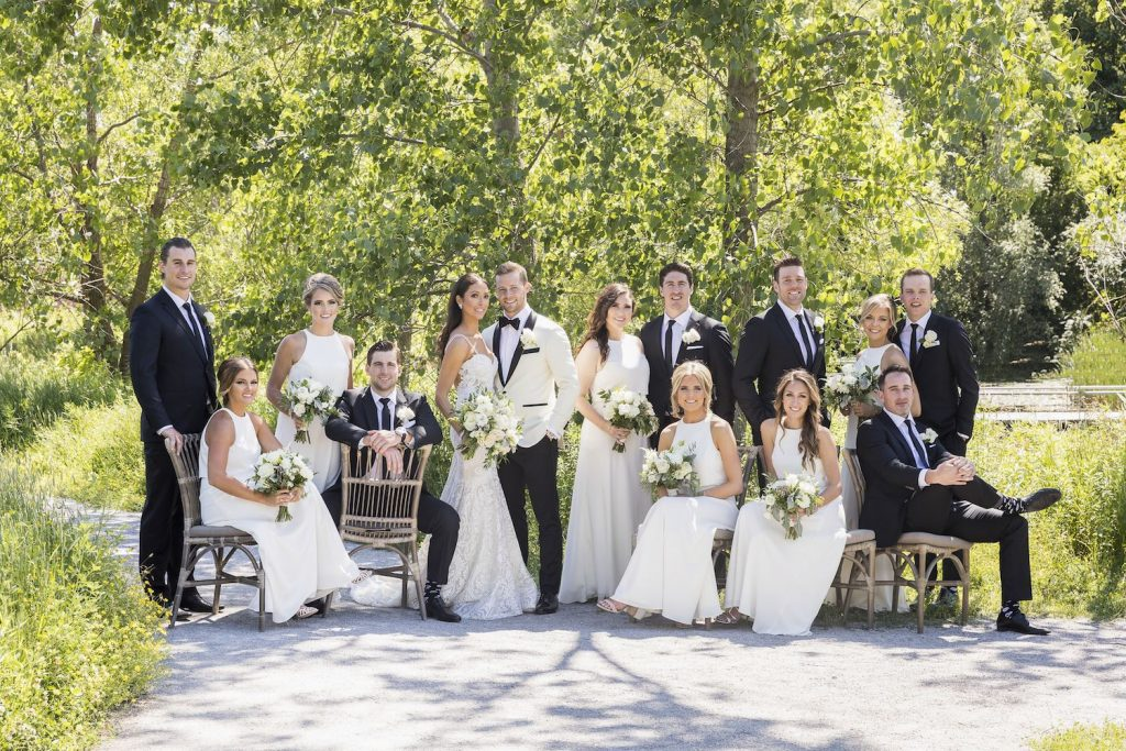 evergreen brickworks wedding flowers