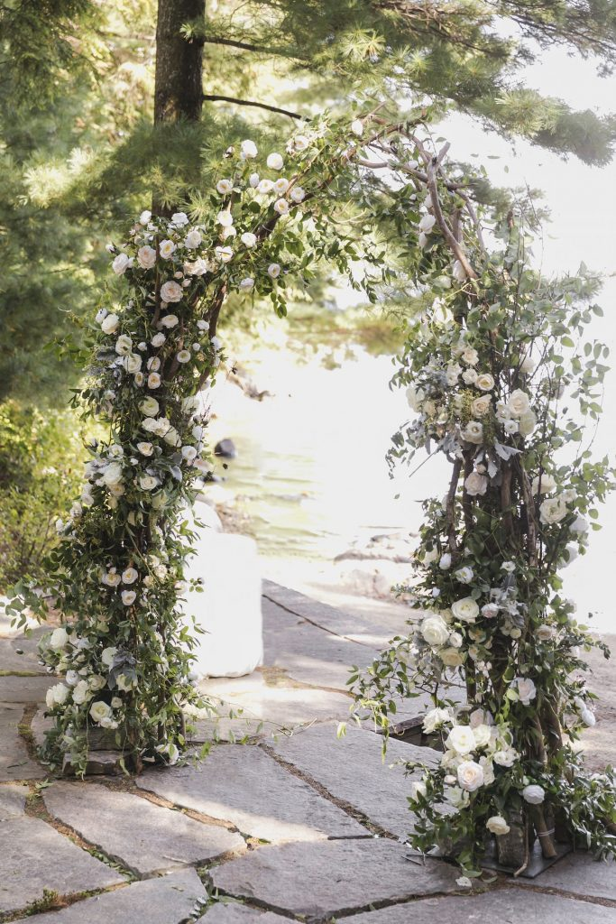 floral wedding arch rachel a clingen