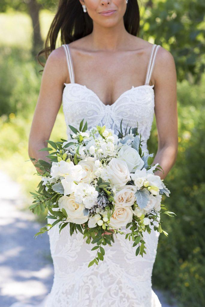 ivory bridal bouquet rachel a clingen