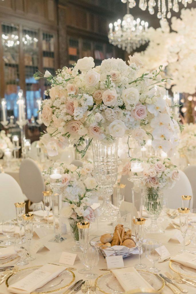 luxury floral centrepieces rachel a clingen