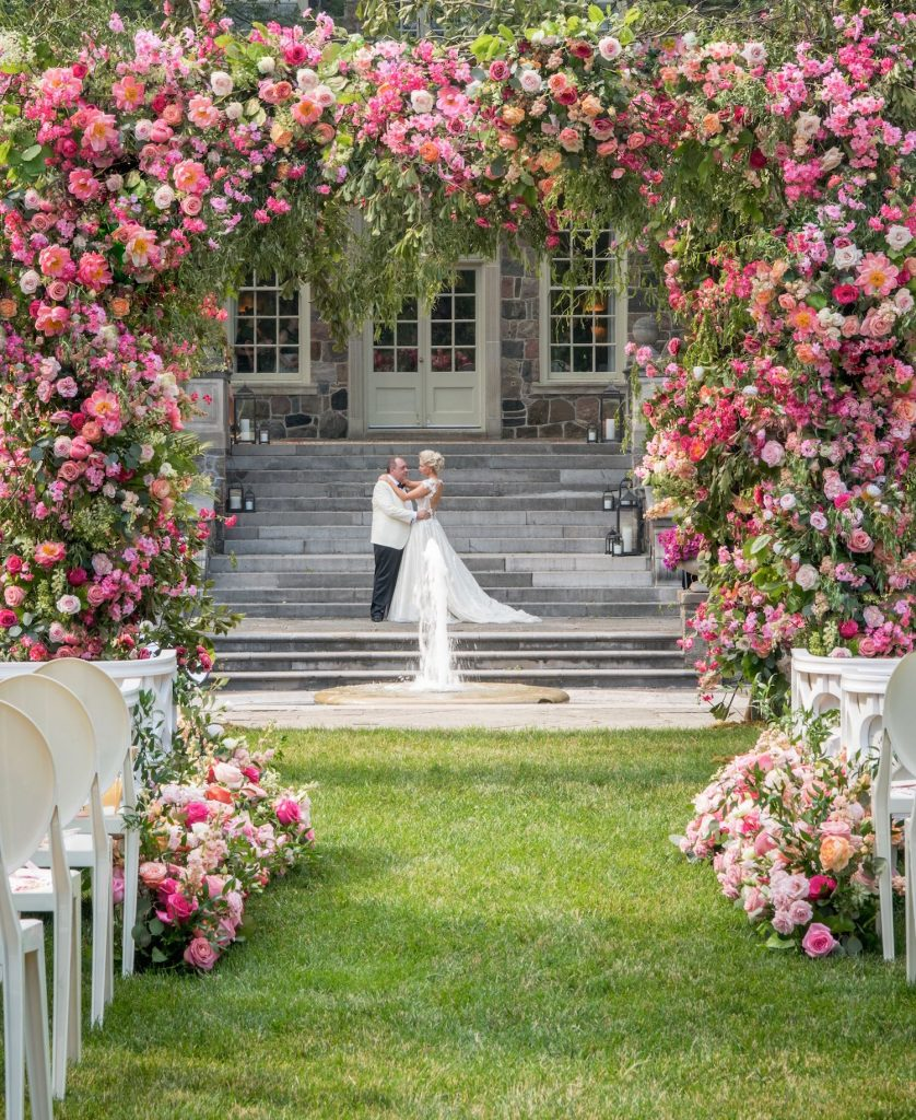 luxury flower chuppah rachel a clingen