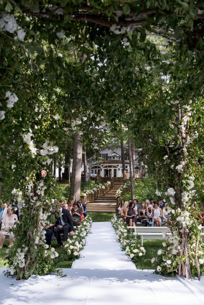 luxury muskoka weddings decor