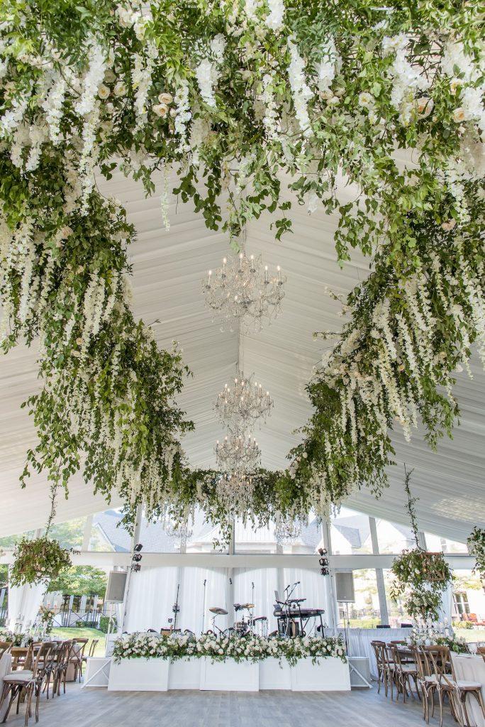luxury tent wedding rachel a clingen 1