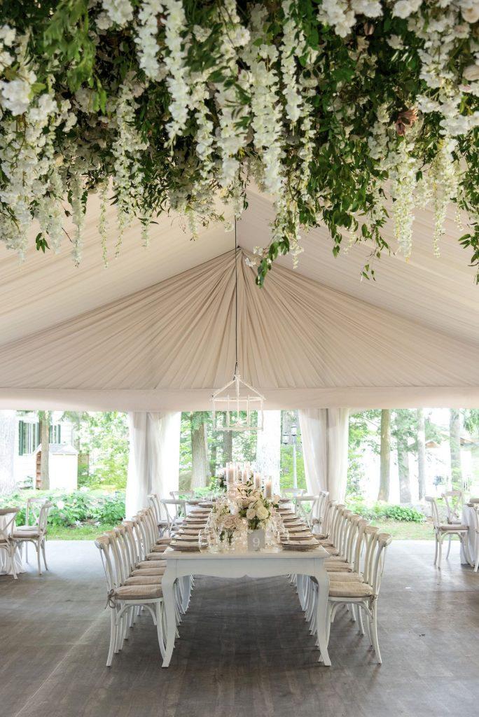 luxury tent wedding rachel a clingen