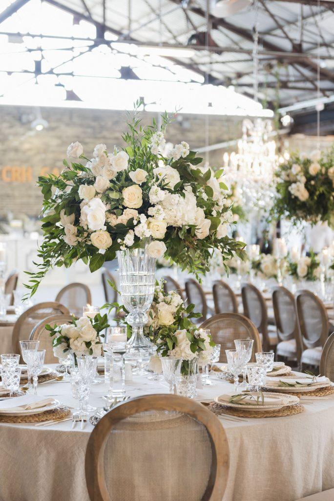 luxury wedding decor toronto ever green brickworks