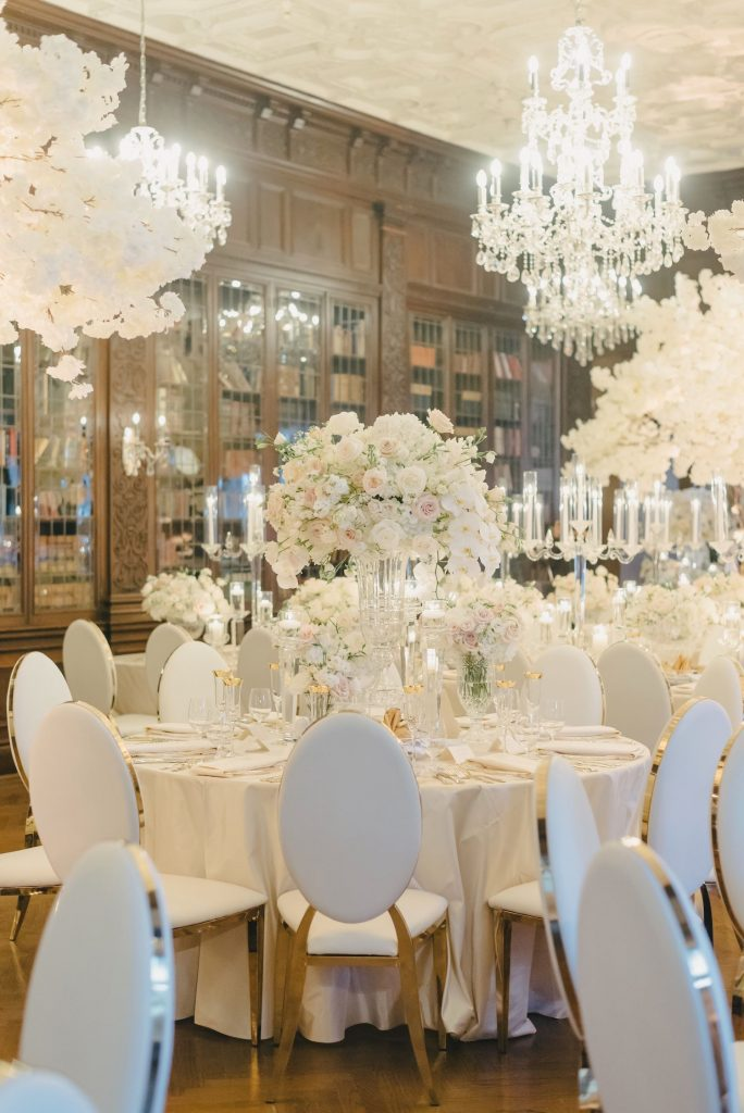 luxury wedding flowers casa loma rachel a clingen