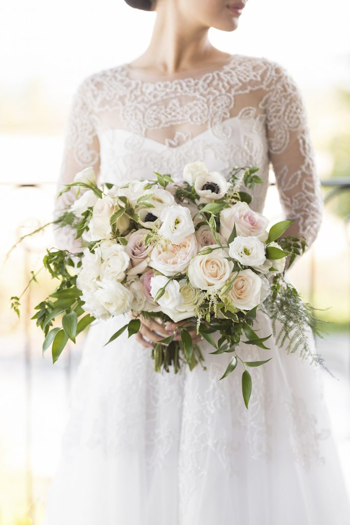 luxury wedding flowers toronto ivory bouquet