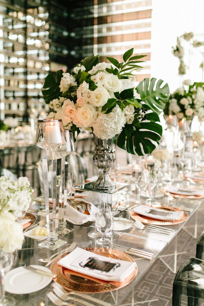 modern wedding decor rachel a clingen