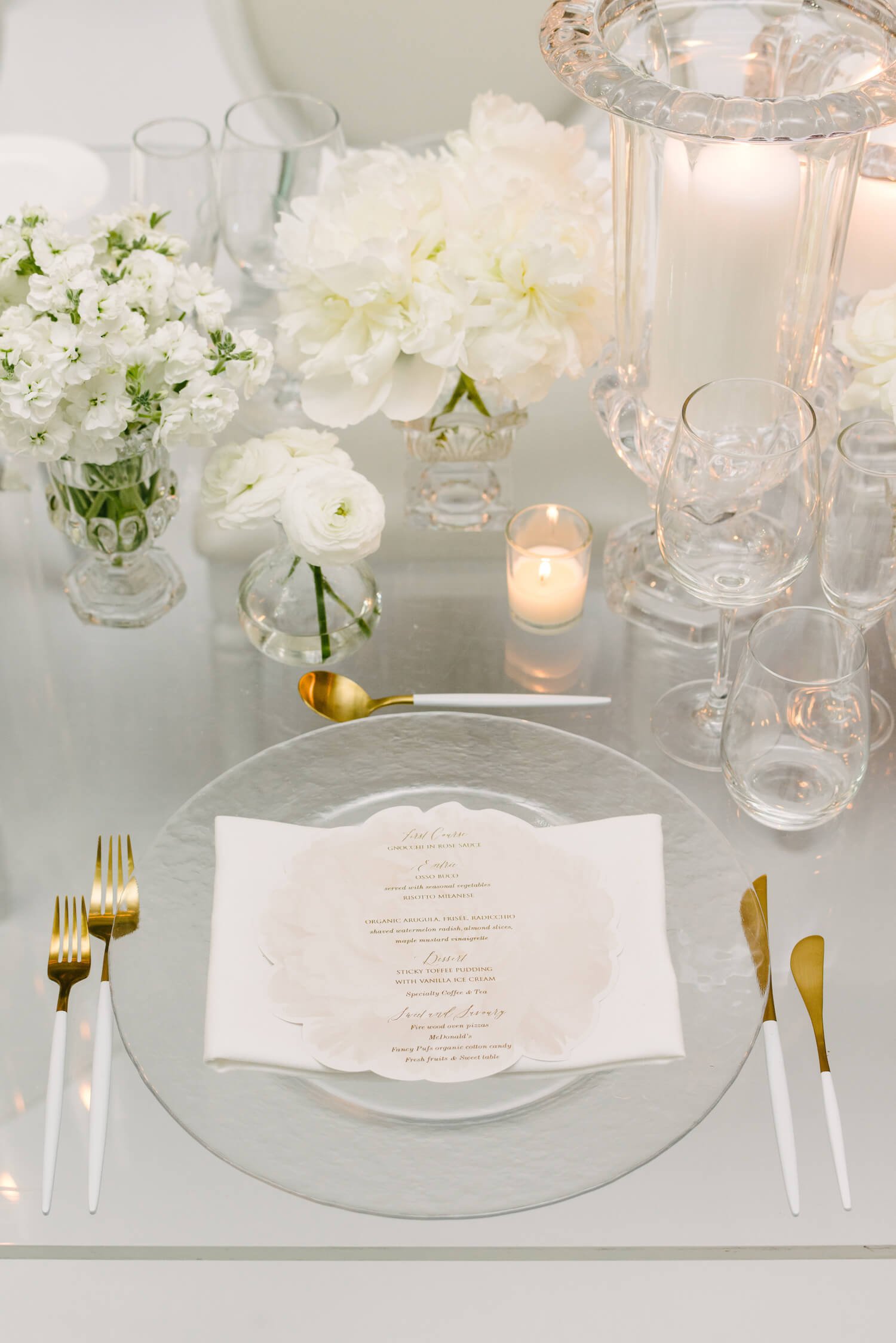 modern wedding place setting rachel a clingen 5
