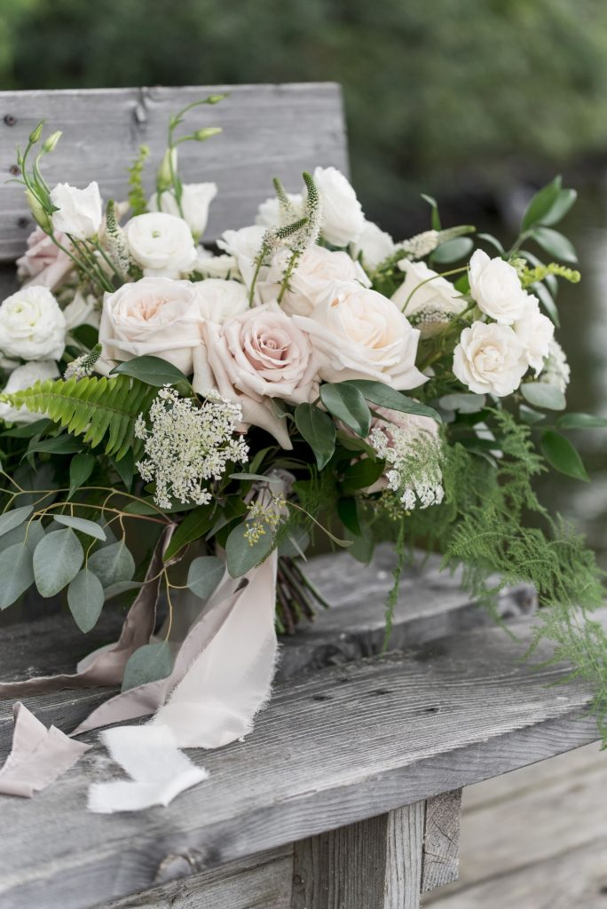 muskoka wedding flowers bouquet