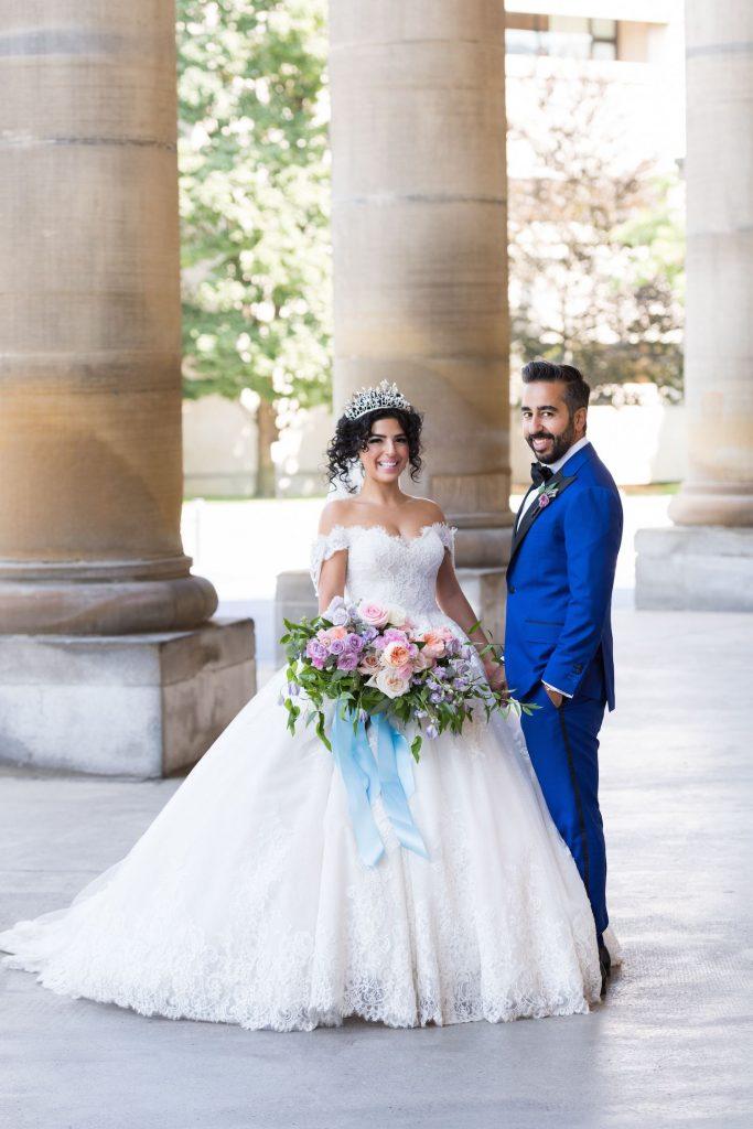 naram rouzhin art gallery wedding 1
