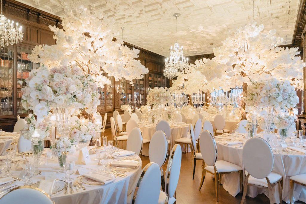 nazam kadri white floral wedding rachel a clingen