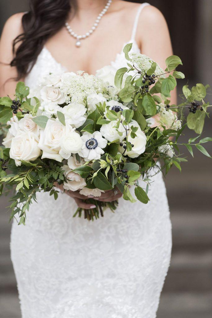 organic bridal flowers