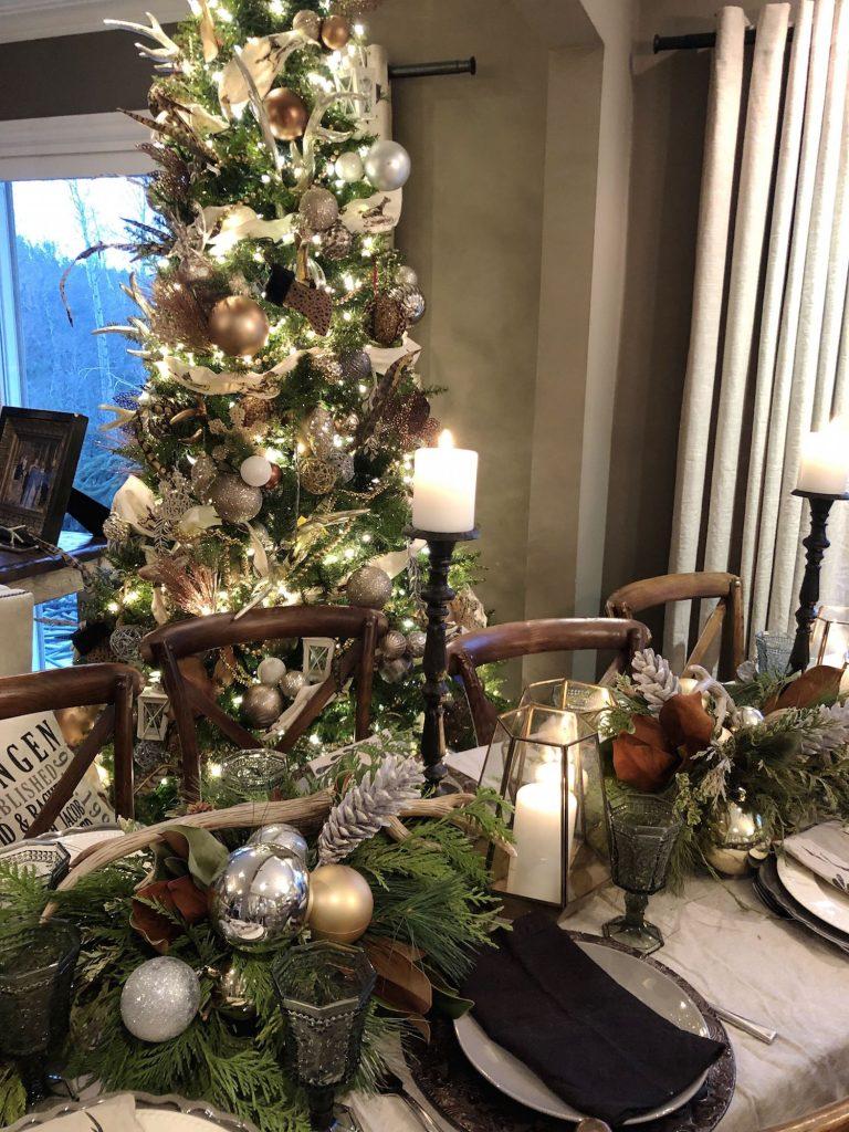 seasonal dinner party decor 1