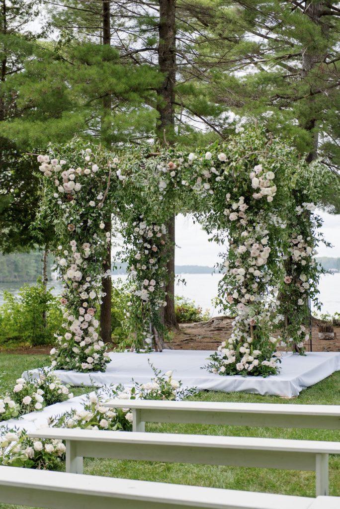 sherwood inn wedding ceremony