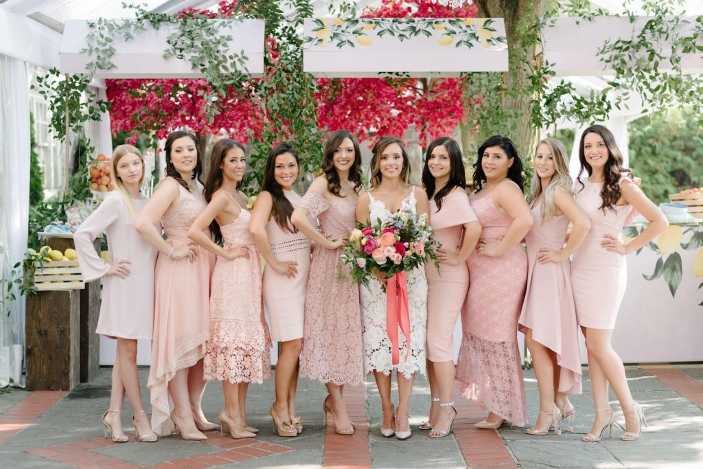 sierra bridal shower bridesmaids