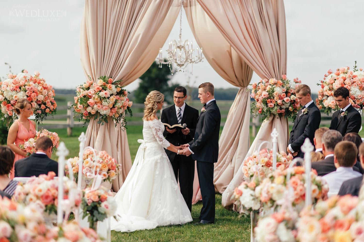 town and country wedding canopy rachel a clingen