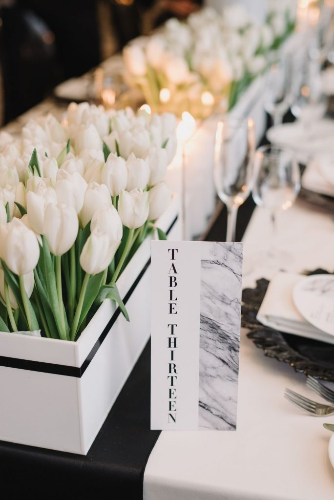 tulip wedding decor toronto