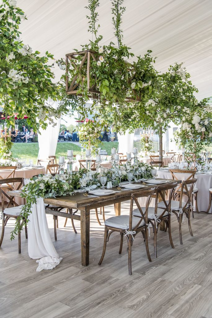 winery wedding flowers niagara rachel clingen