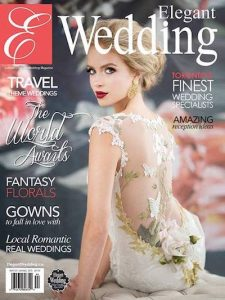 Elegant Wedding Magazine Cover Winter 2014 1