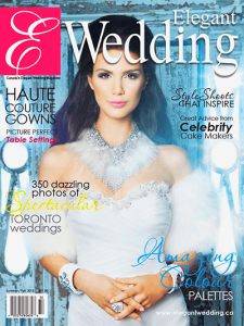 elegant wedding summer fall 2013 cover