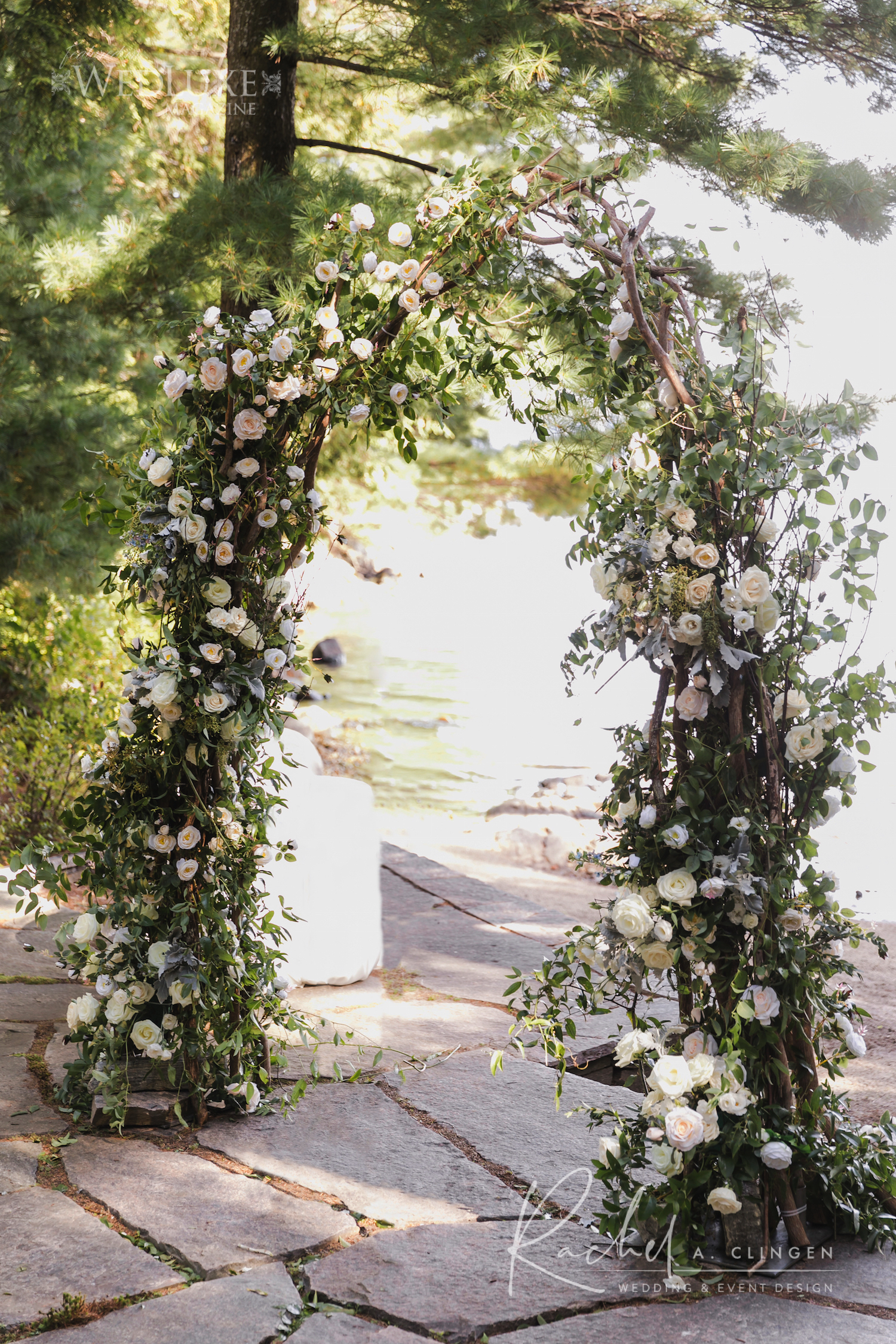floral wedding arch rachel a clingen imp