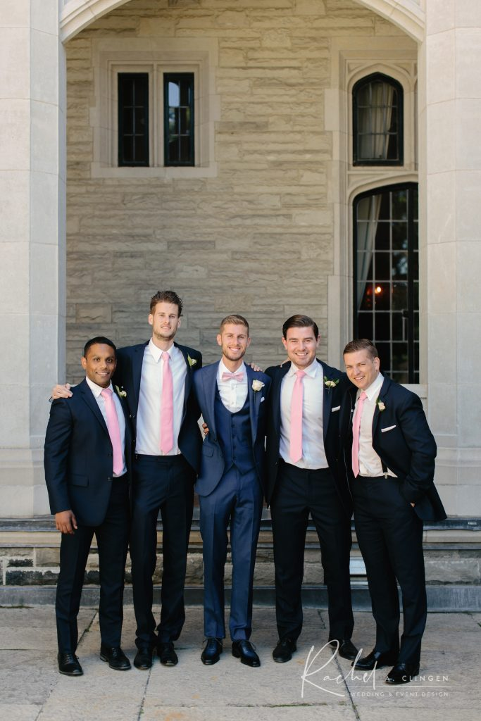 groomsmen casaloma wedding