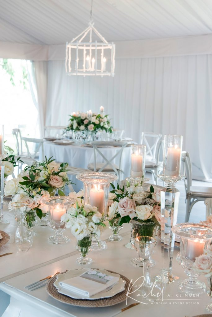 luxury wedding centrepieces flowers muskoka imp