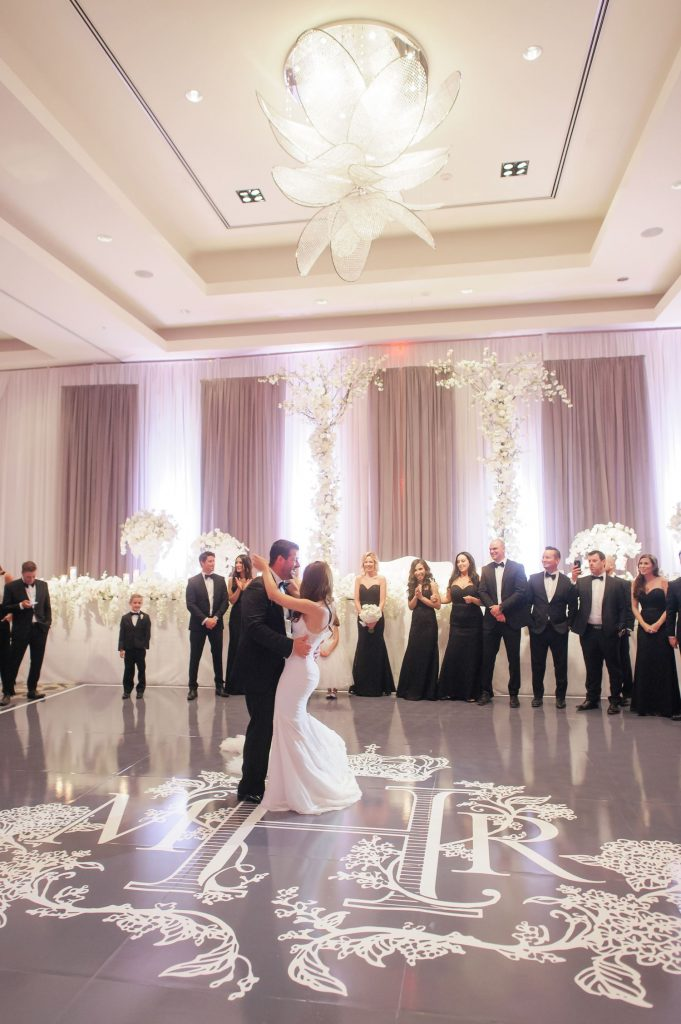 rob marisa ritz carlton wedding