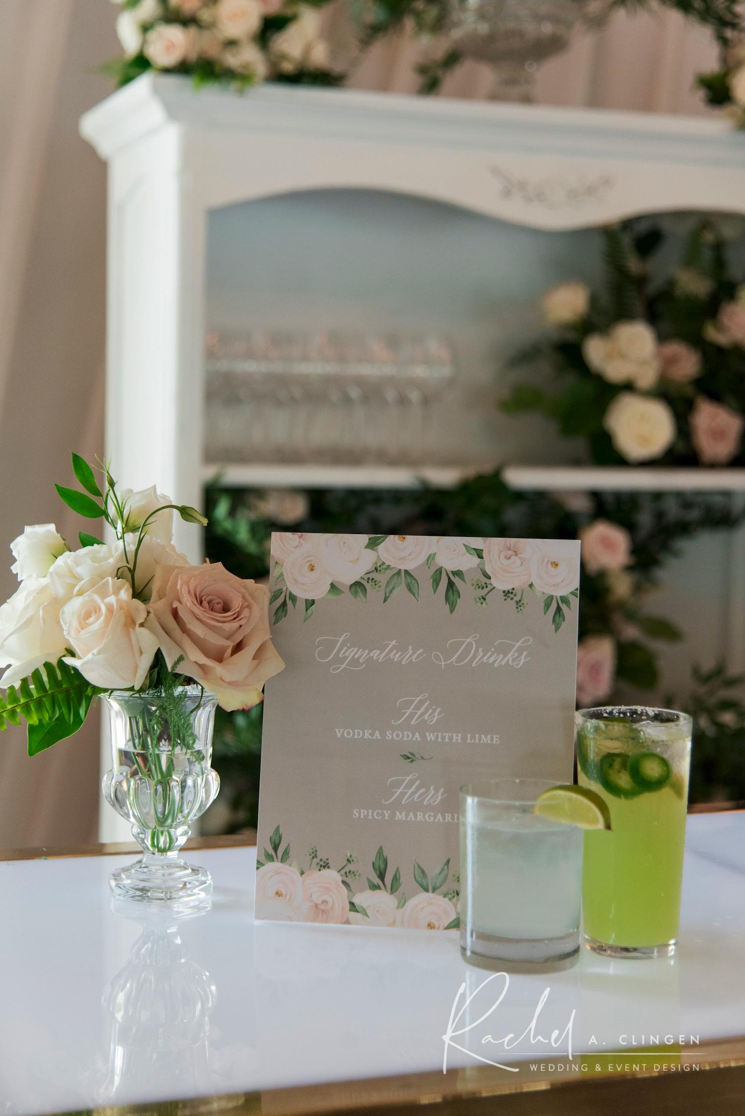 singnature drink sherwood inn wedding imp