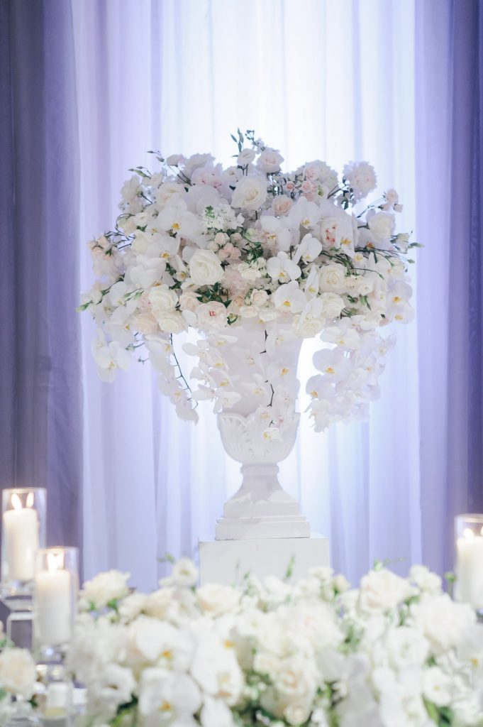 white luxury wedding toronto