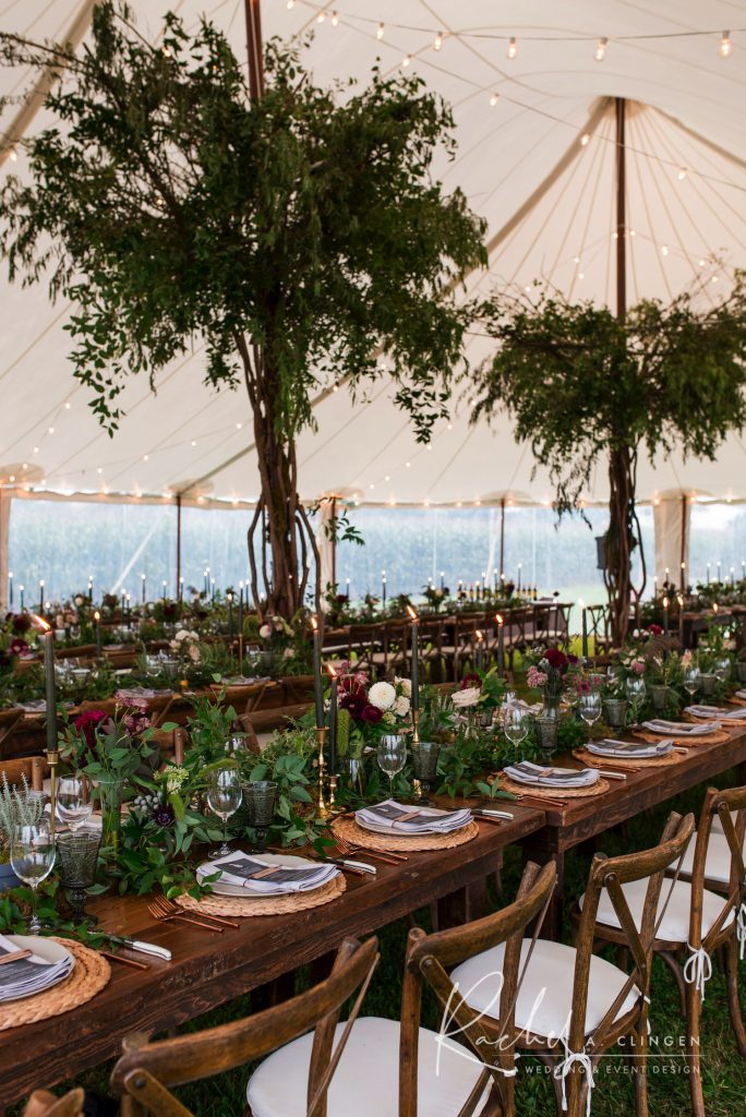 bo ho tent wedding rachel clingen