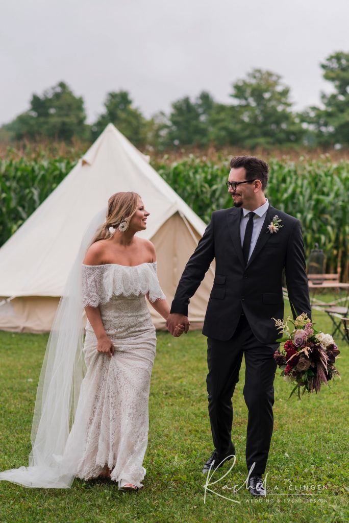glamping wedding tents