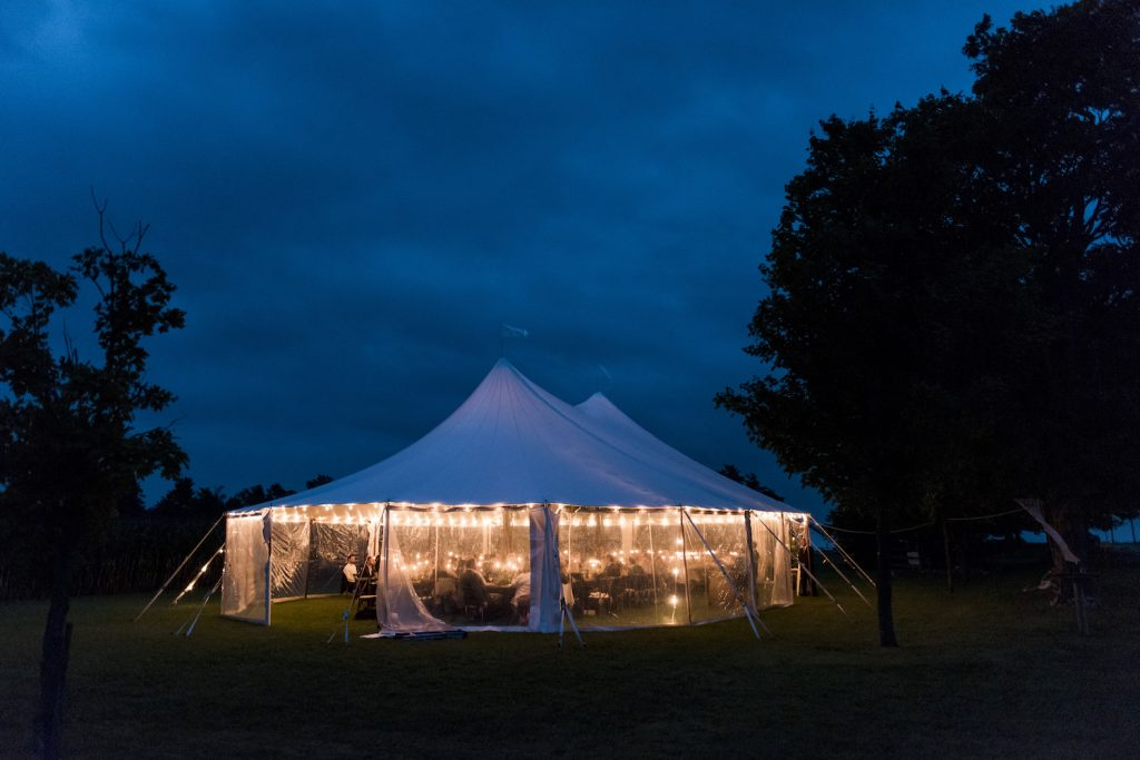 tent weddings toronto ontario