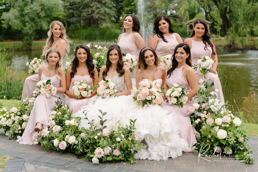 blush bridesmaids dresses imp