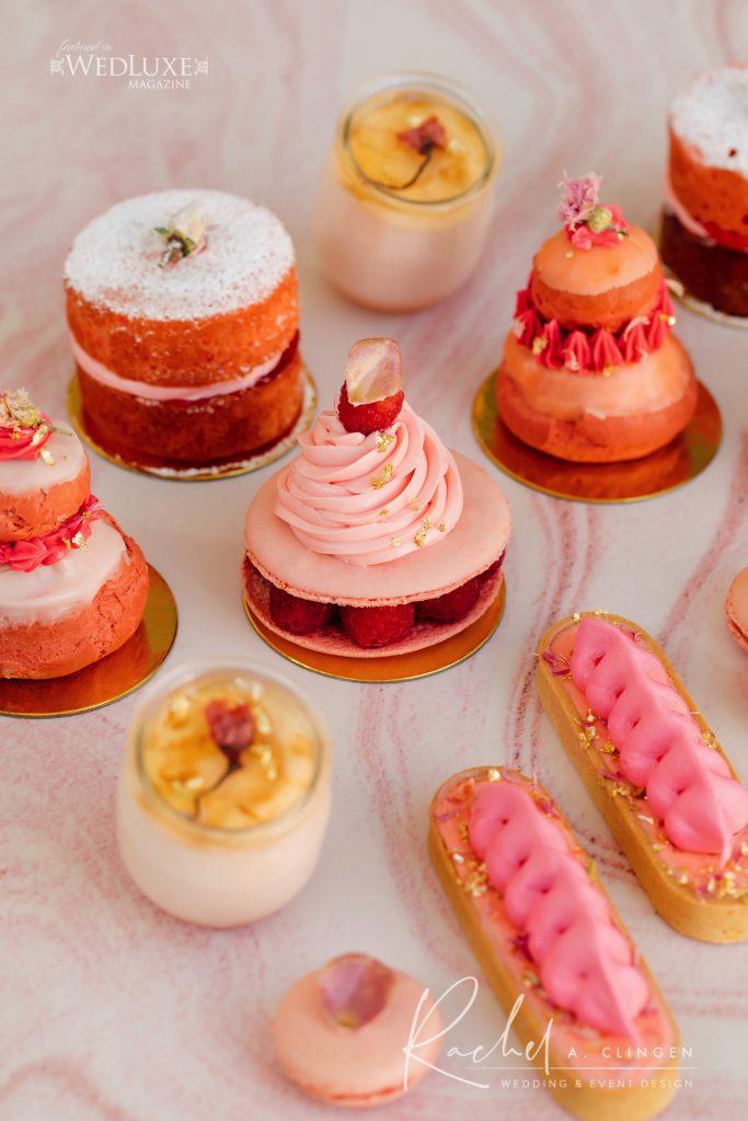 coral peach wedding cakes imp