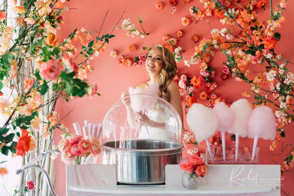 cotton candy cart weddings toronto imp