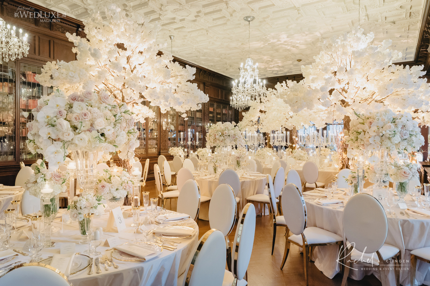 celebrity wedding decor toronto casa loma rachel clingen