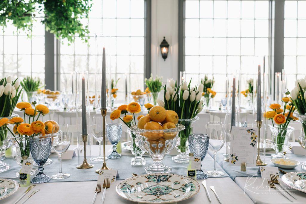 lemon themed bridal shower rachel clingen