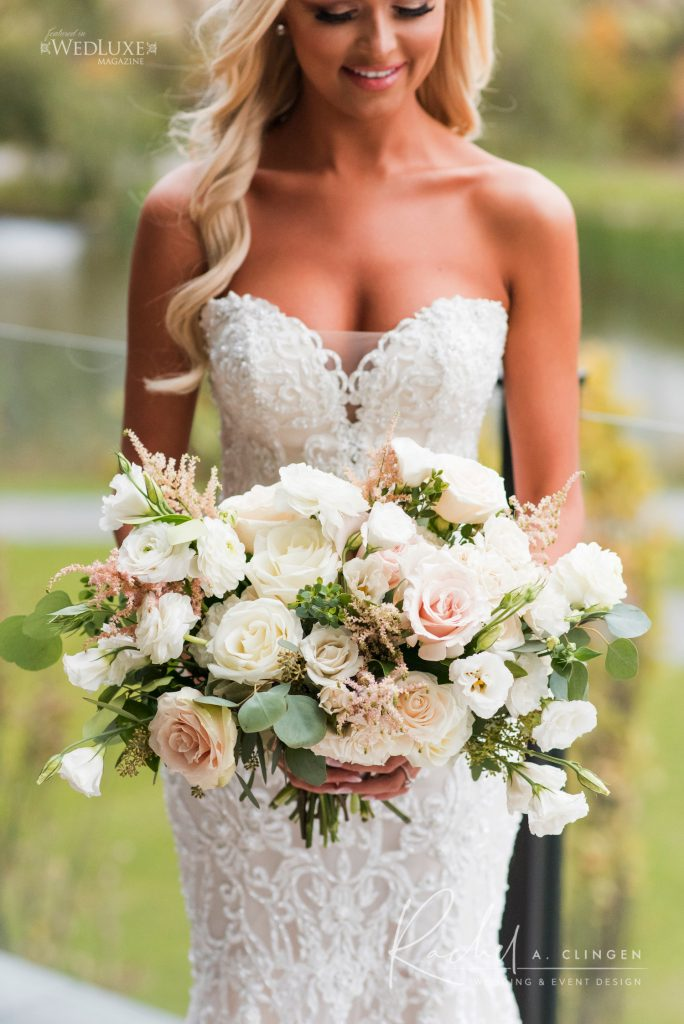 wedding bouquet flowers design toronto