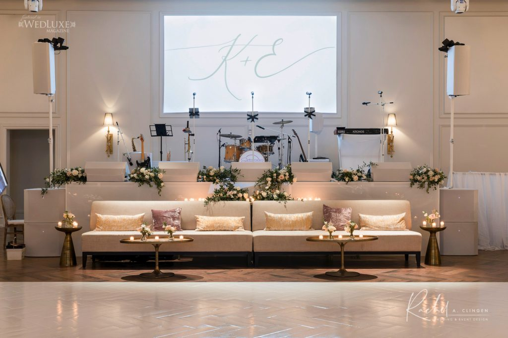 wedding lounge furniture decor