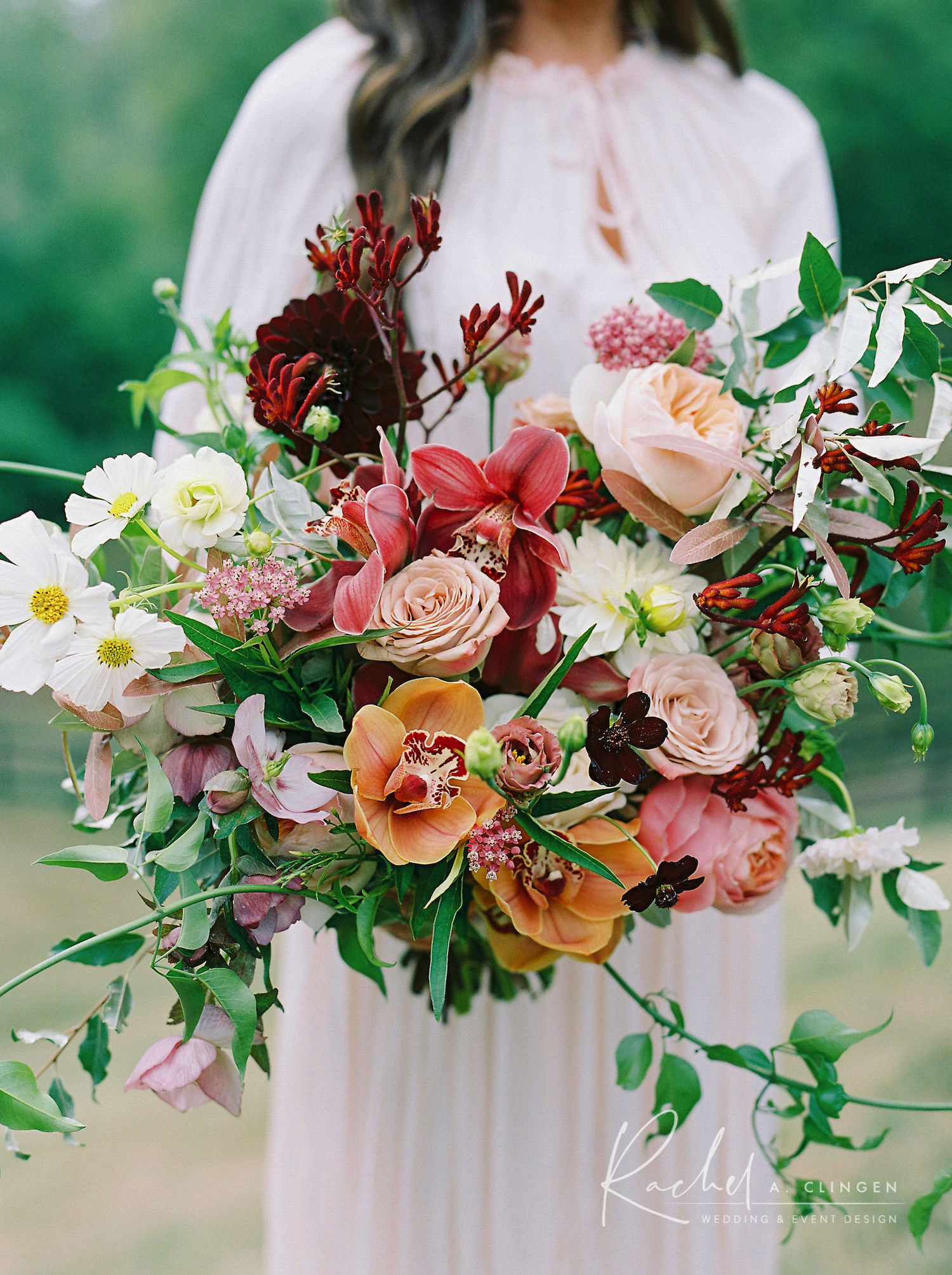 autumn flowers decor wedding