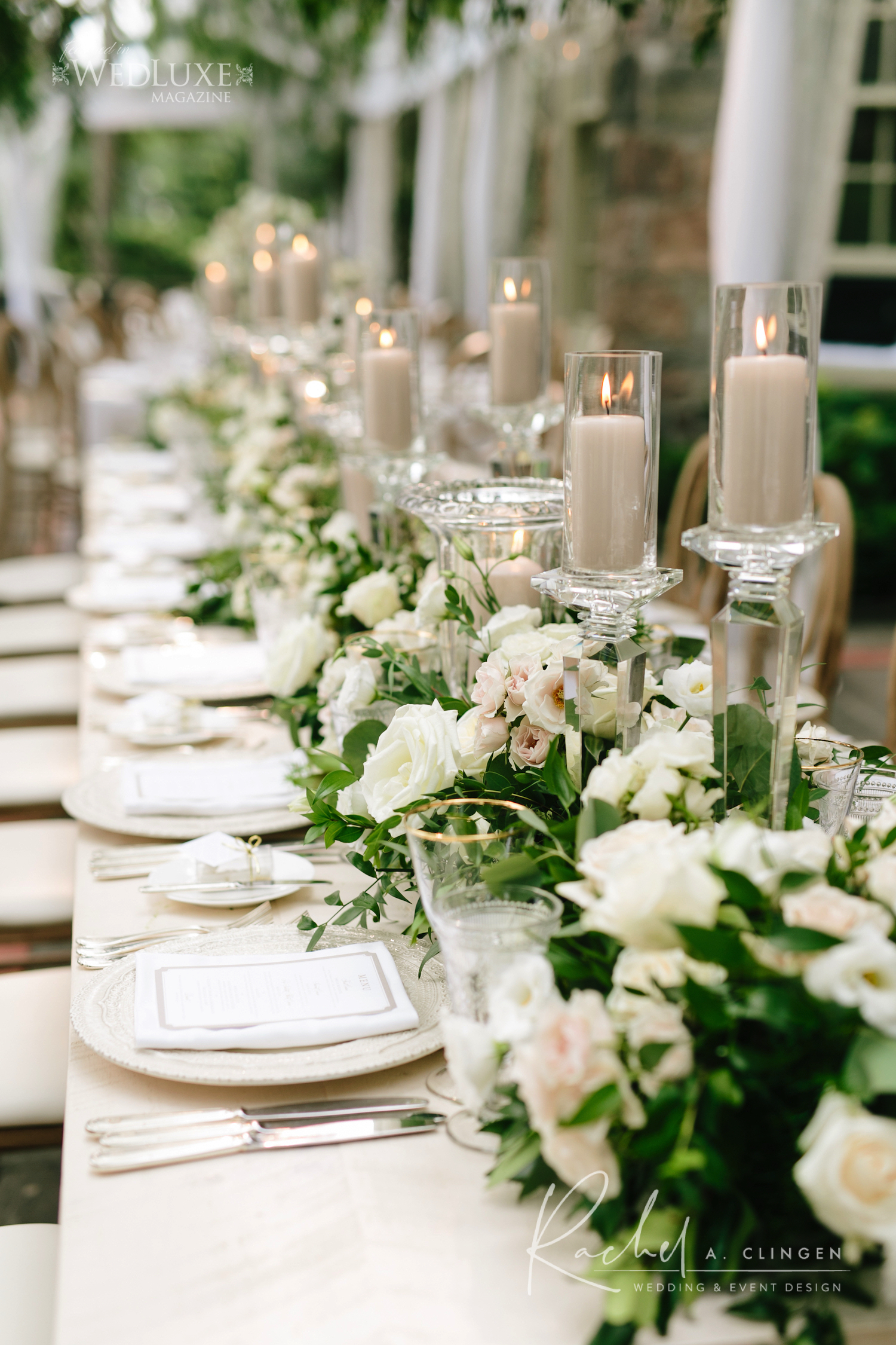 head table flowers design imp