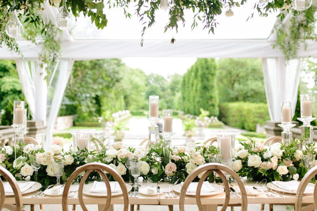 head table flowers imp