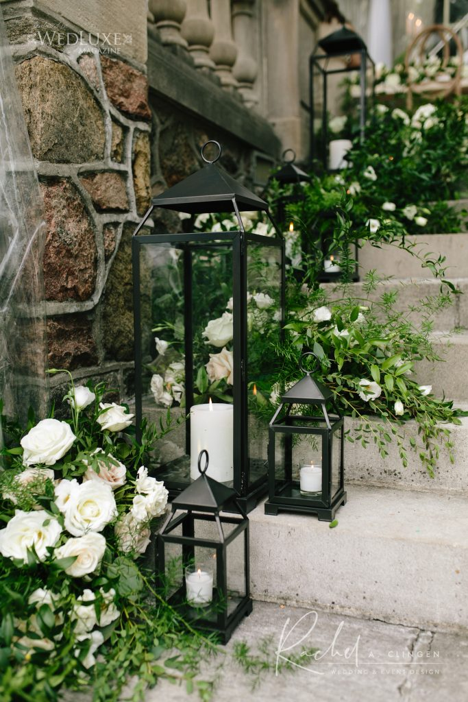 staircase flowers decor imp