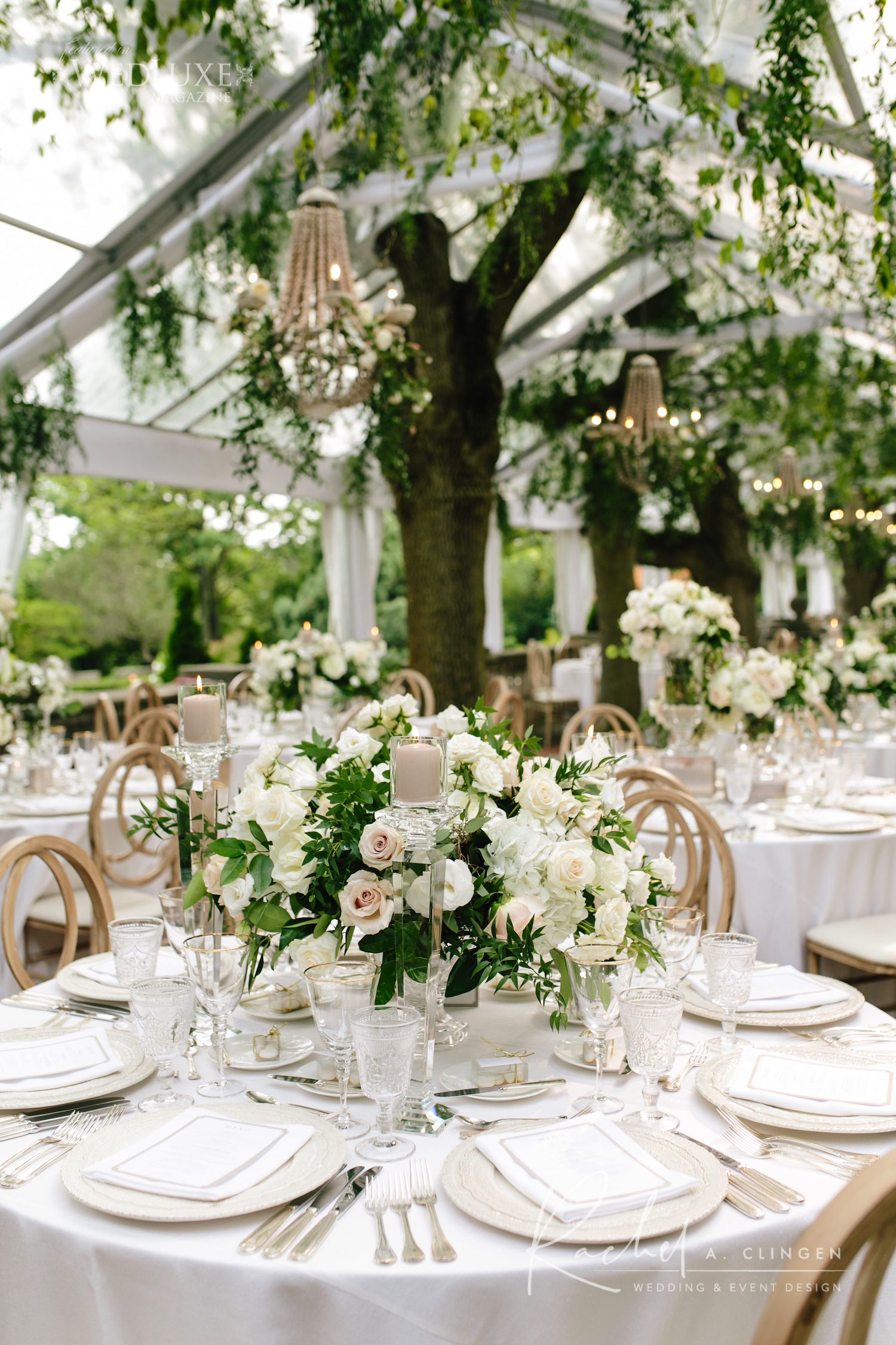 tent wedding flowers decor imp