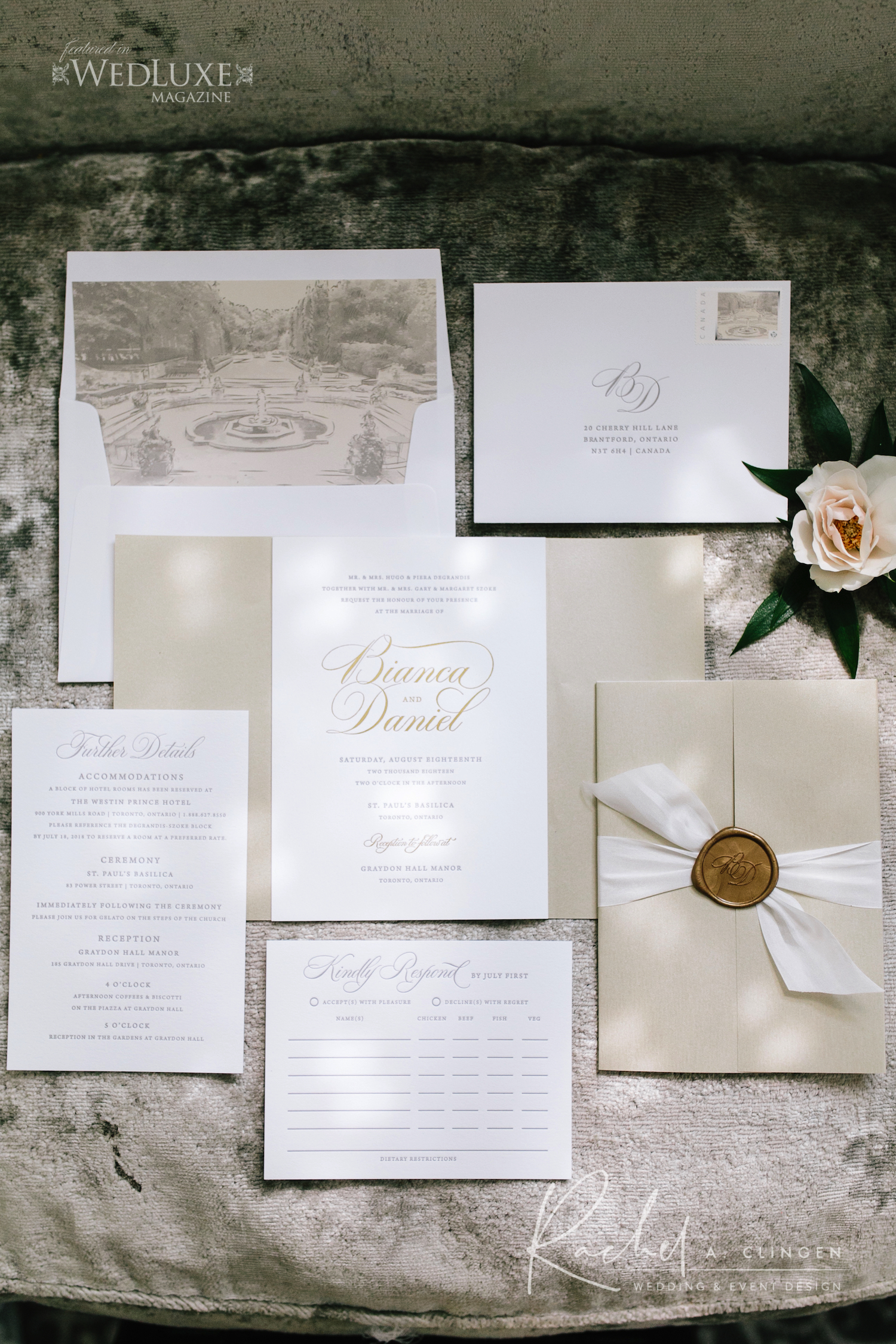 wedding stationery toronto graydon imp