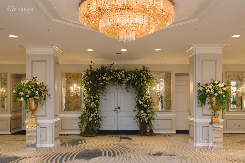 entrance wedding decor toronto